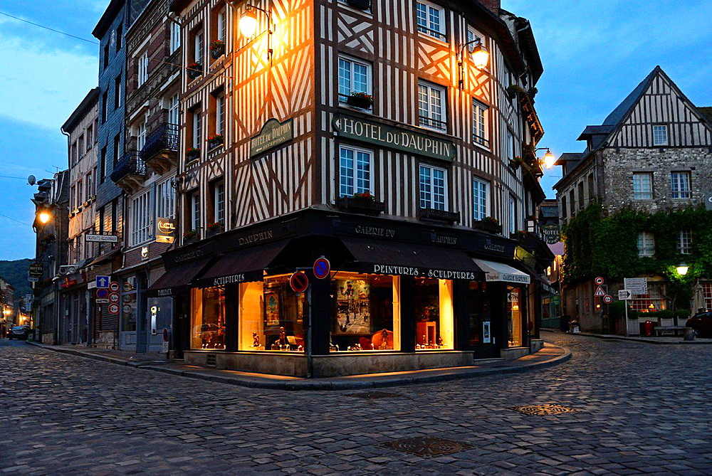 Honfleur, Calvados, Normandy, France.