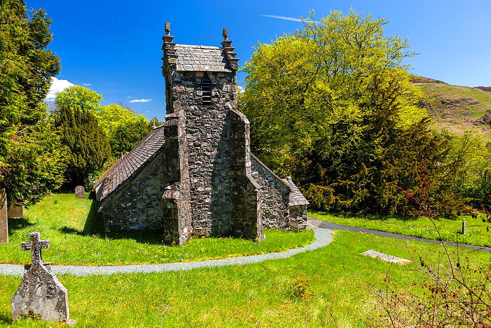 Matterdale Church, Matterdale, Lake District National Park, Cumbria, England, UK, Europe.
