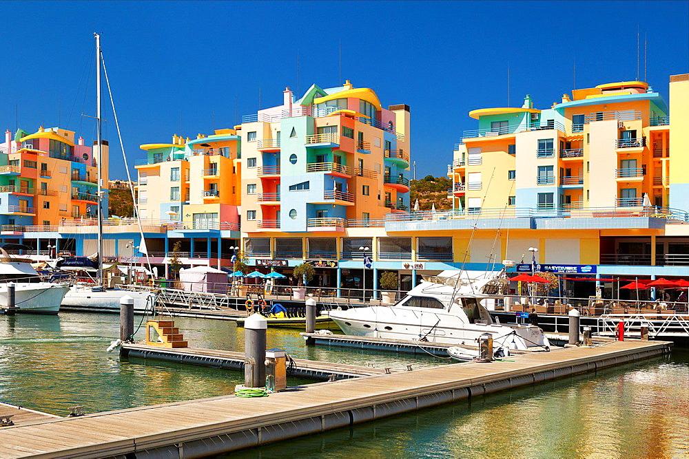 Albufeira Marina, Algarve, Portugal.