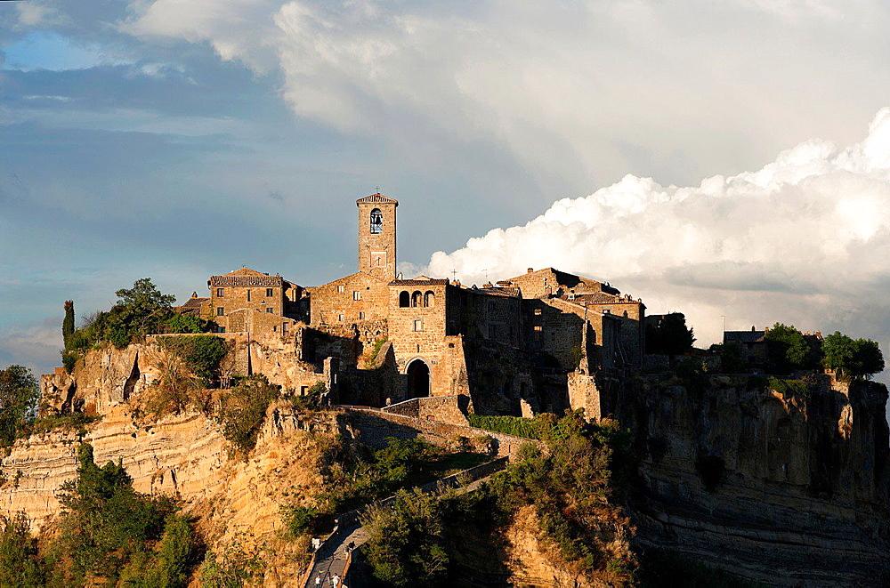 Civita di Bagnoregio. Viterbo District, Lazio, Italy.
