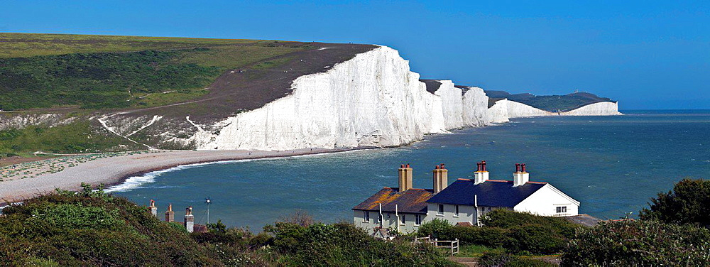 The Seven Sisters, Sussex, England.
