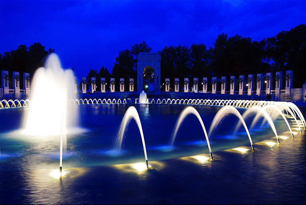 World War II Memorial, Washington.