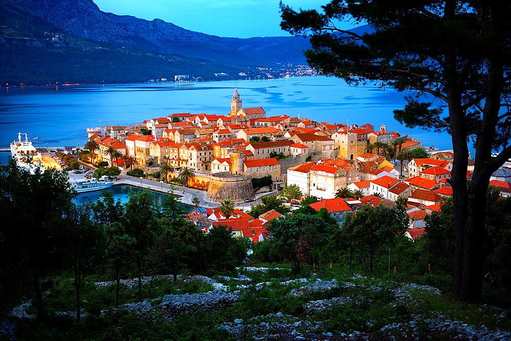 Korcula town, Korcula Island Craotia.