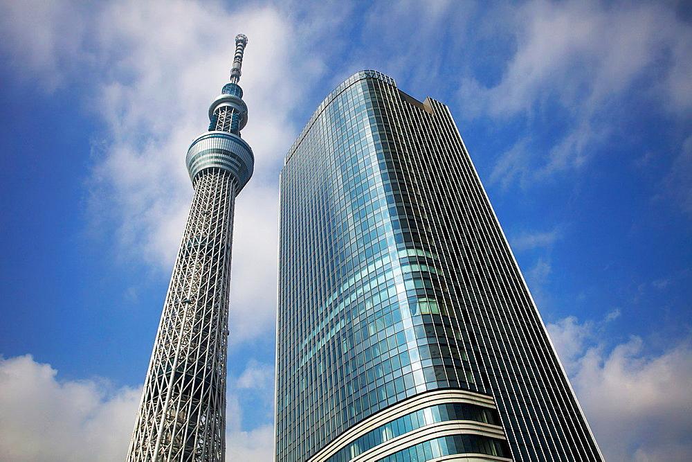Tokyo Sky Tree, Tokyo, Japan. - 817-460629
