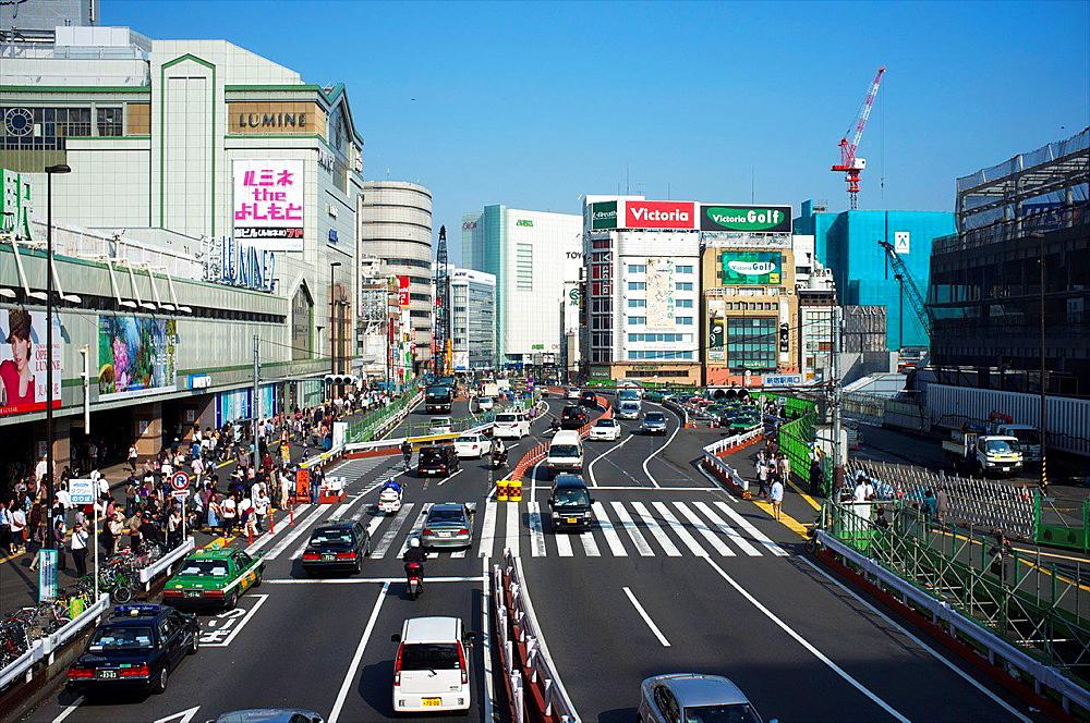 Shinjuku, Tokyo, Kanto, Japan.