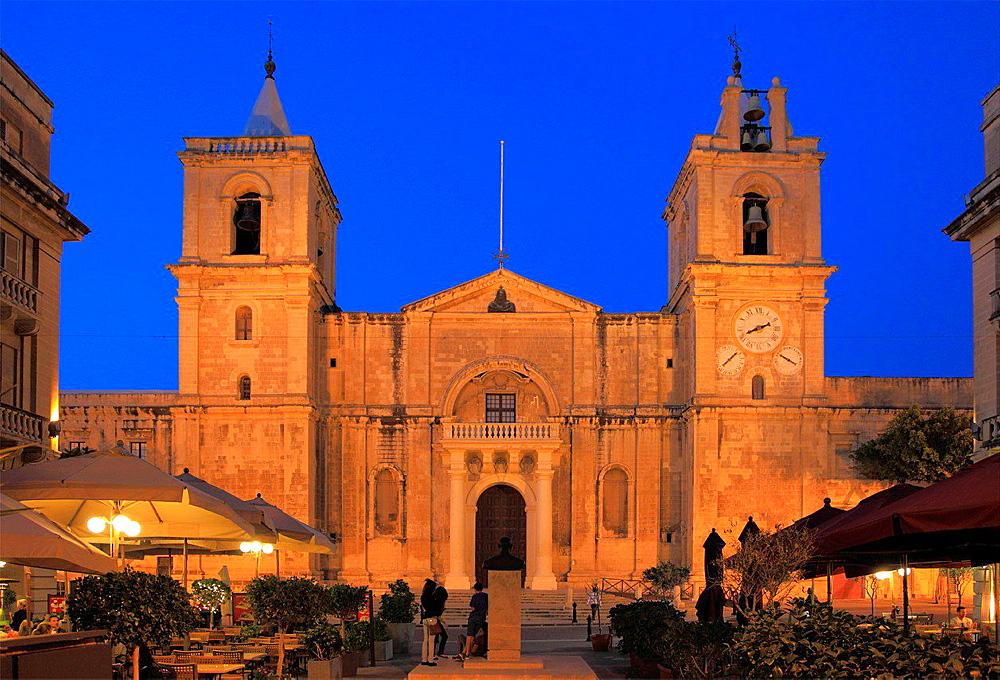 Malta, Valletta, St John's Co-Cathedral.