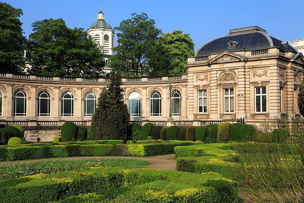 Belgium; Brussels; Royal Palace.