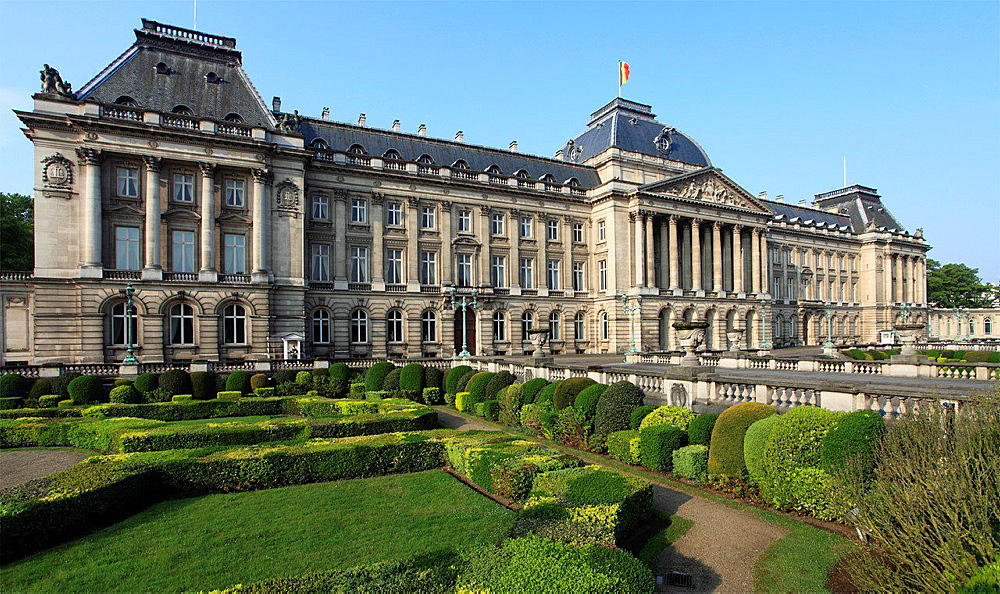 Belgium; Brussels; Royal Palace.