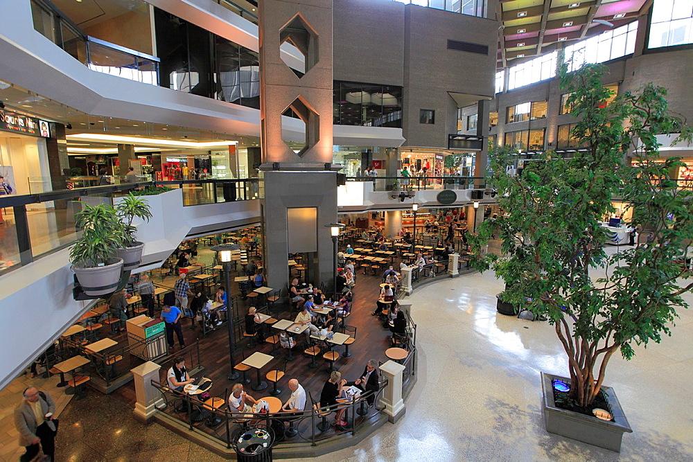 Canada, Quebec, Montreal, Complexe Desjardins, shopping mall,.