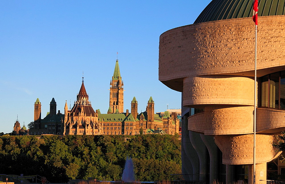 Canada, Ontario, Ottawa, Parliament, Museum of Civilization,.