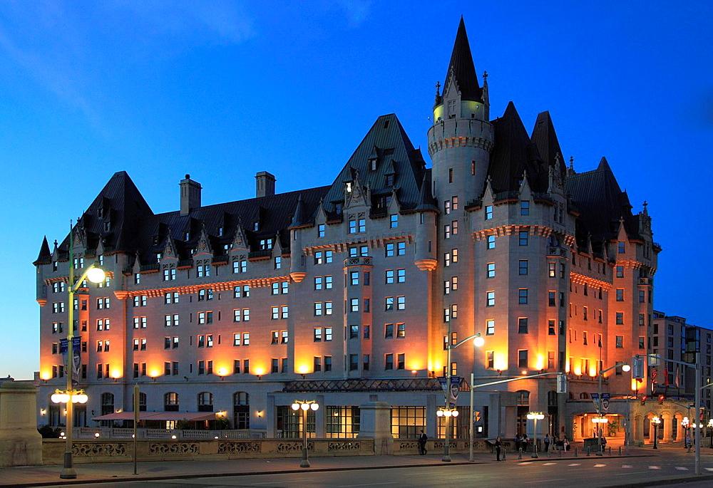 Canada, Ontario, Ottawa, Chateau Laurier Hotel,.