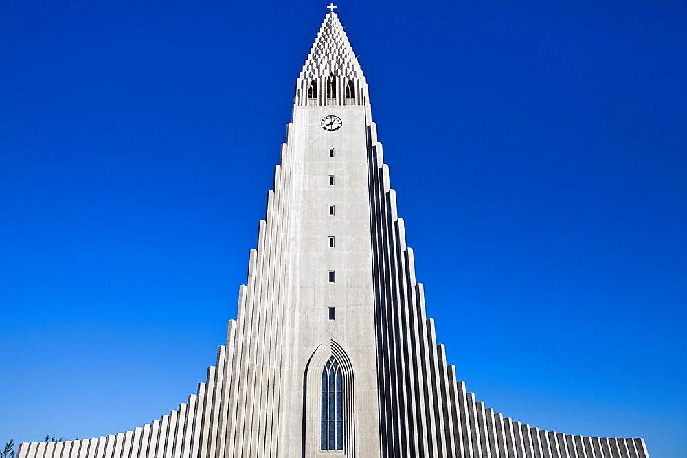 Hallgrimur Church, Hallgrimskirkja, Reykjavik, Iceland