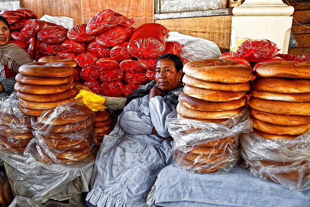 Market in cusco, peru.