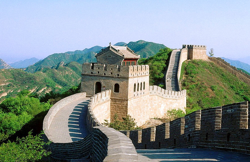 China, Badaling, Great wall, Beijing region