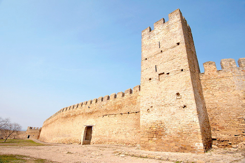 Akkerman fortress (white rock, white fortress), Belgorod-Dnestrovskiy, Ukraine, Eastern Europe.
