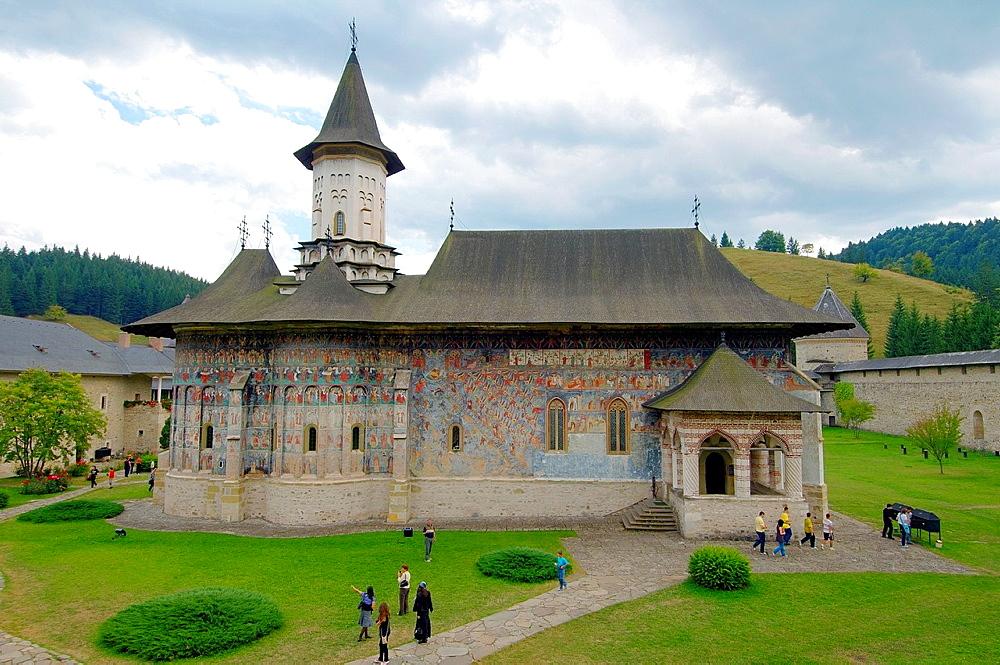 Sucevita Monastery Manastirea Sucevita, Suceava, Bukovina, Romania