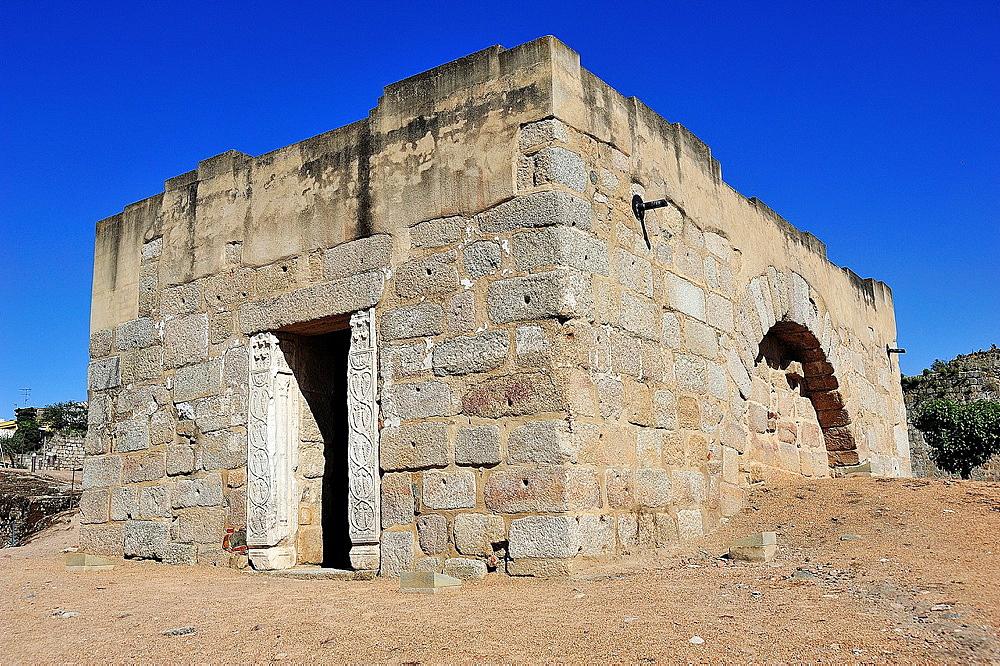 Cistern in Arabic Alcazaba, Merida, Badajoz province, Extremadura, Spain