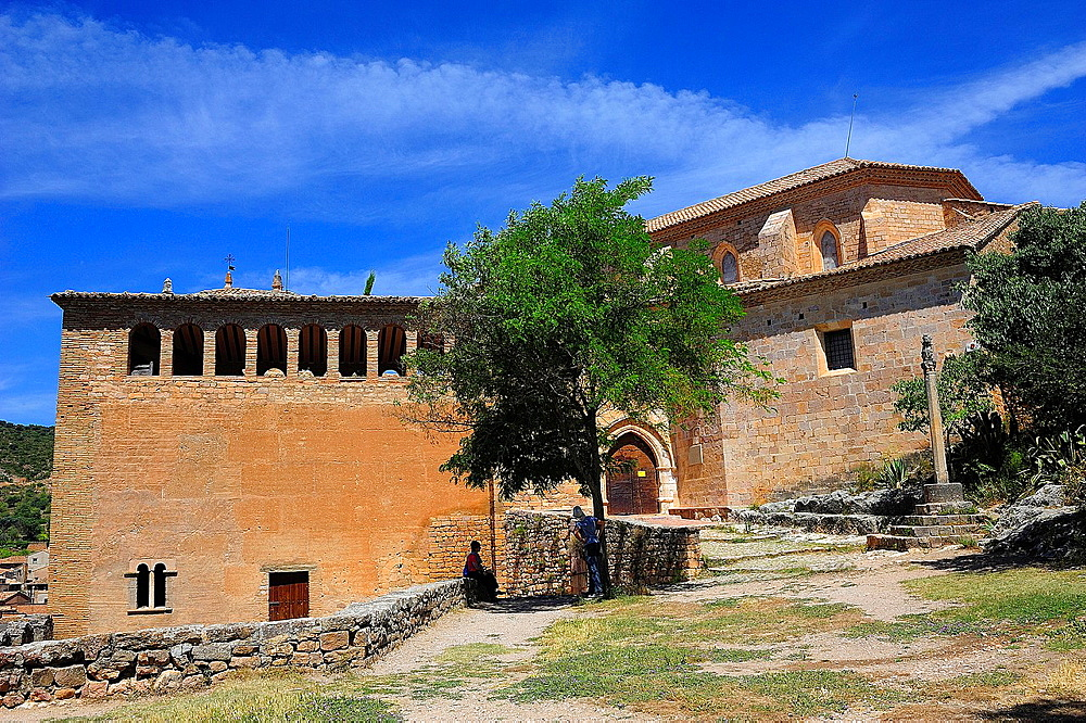 Collegiate church, Alquezar, Huesca province, Spain