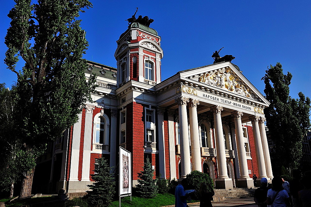 Ivan Vassov National Theatre, Sofia, Bulgaria