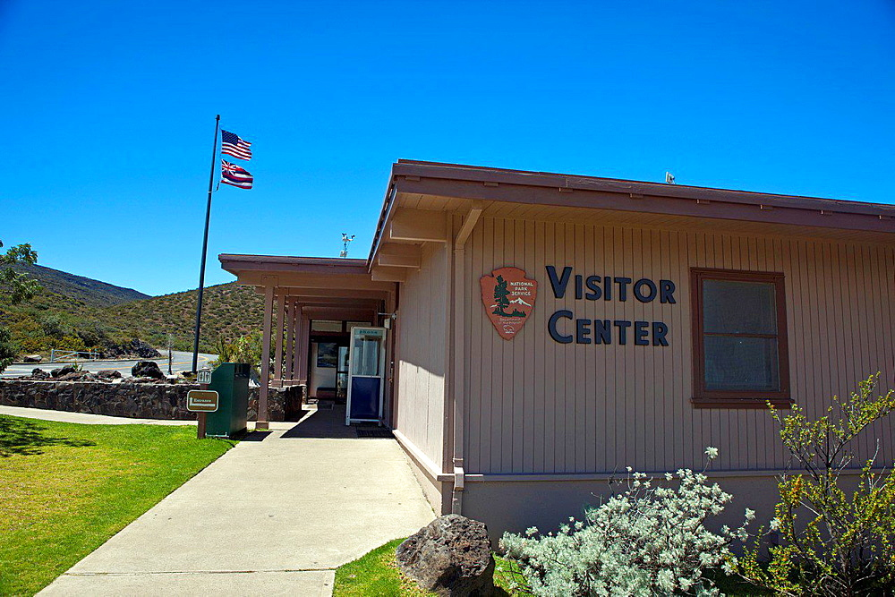 Visitor Center, Haleakala National Park, Maui, Hawaii, United States of America.