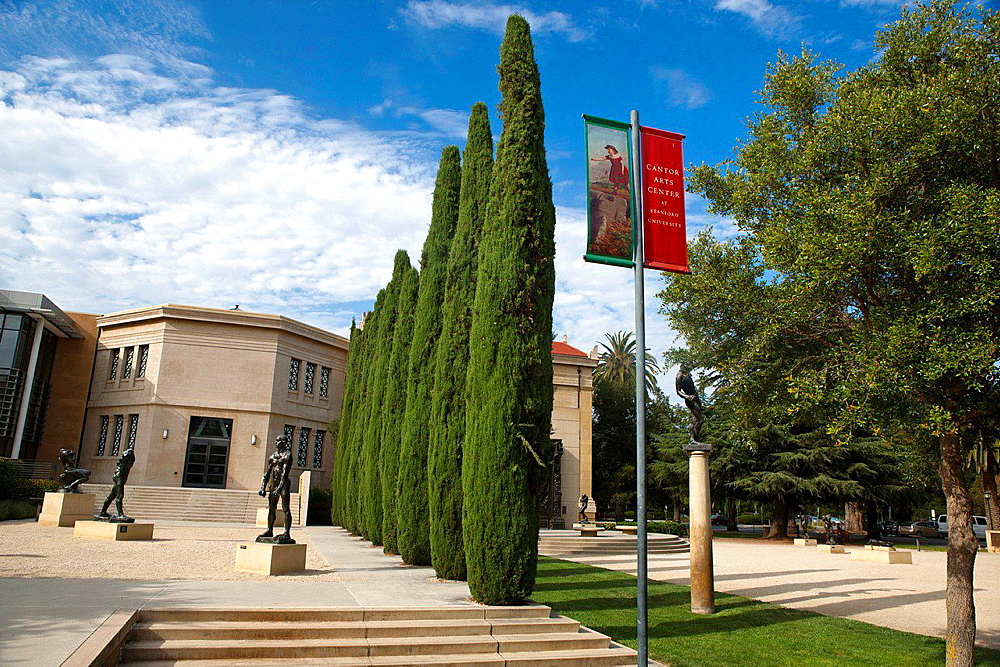 Rodin Sculpture Garden, Cantor Arts Center, Stanford, California, United States of America.
