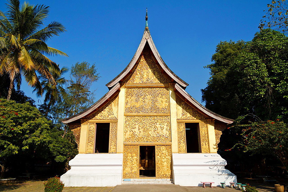 Part of the Temple Complex Vat Xieng Thong in Lunag Prabang.