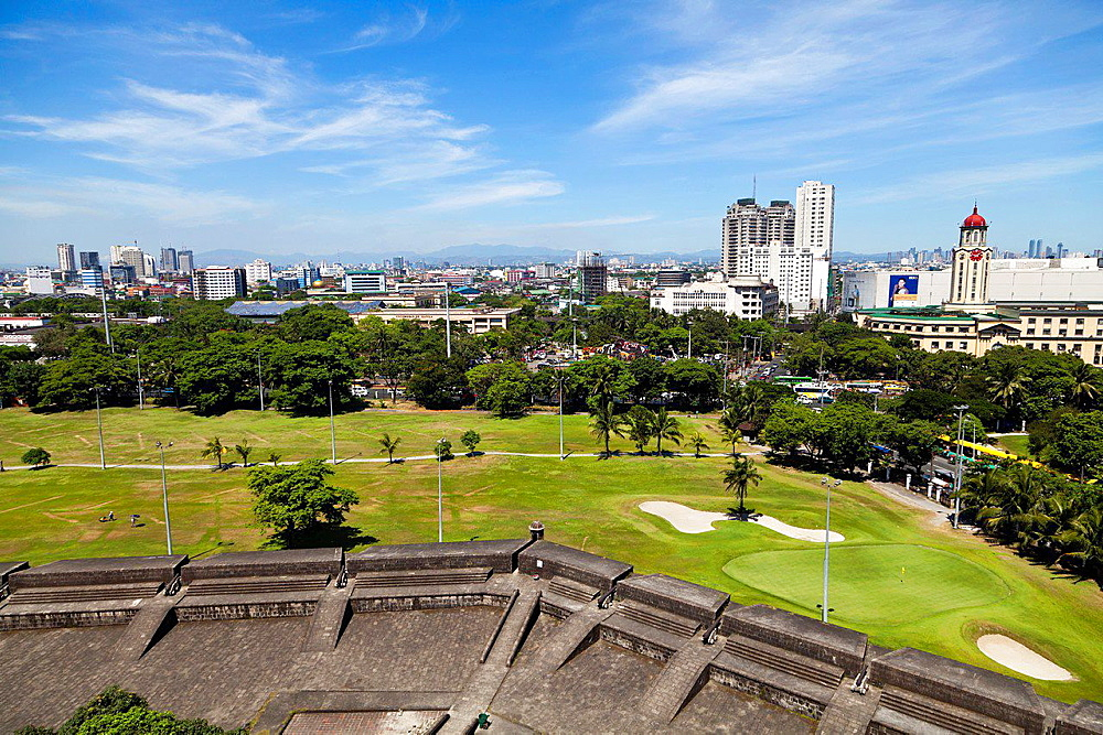 View over Manila, Philippines.