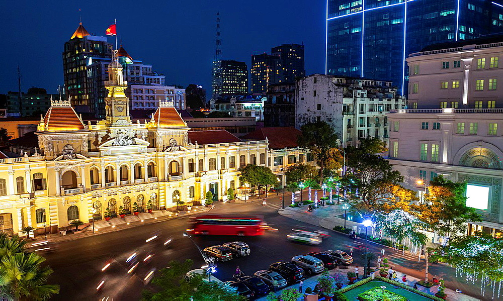 Ho Chi Minh City City Hall.