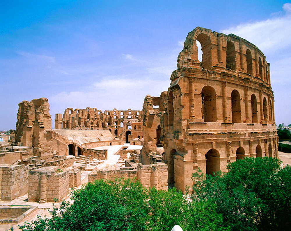 The Colosseum, El-Djem, Tunisia