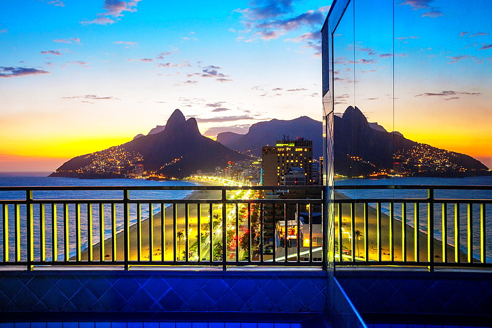 Ipanema and Leblon Beaches, Rio de Janeiro, Brazil