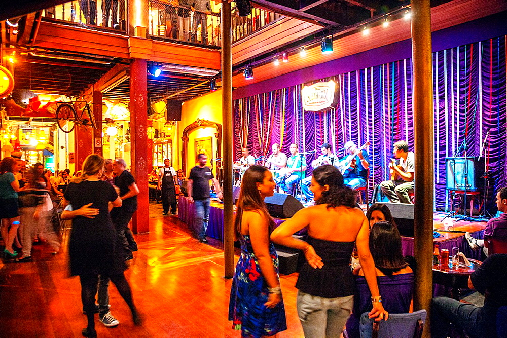 Rio Escenarium restaurant, the best live music and samba, Lapa district, Rio de Janeiro, Brazil - 817-464094