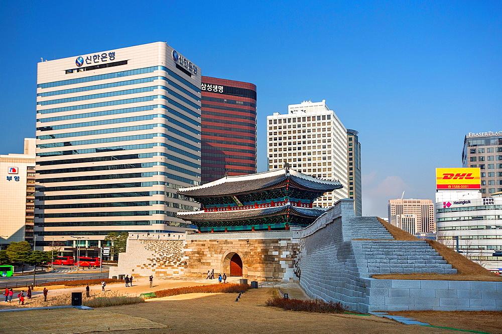 Korea, Seoul City, Namdaemun Gate 2013.