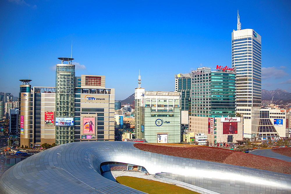 Korea, Seoul City, New Dongdaemun History and Culture Center Building, (to be opened in 2014).