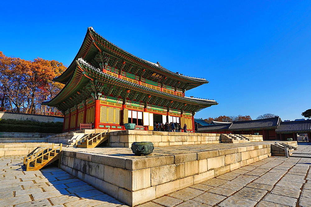 Korea, Seoul City, Changdeokgung Palace (W.H.).