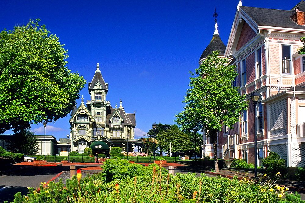 The victorian Carson Mansion, Eureka, Humboldt County, CALIFORNIA.