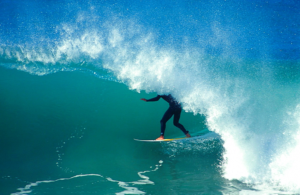 Surf in Jeffreys Bay, South Africa.