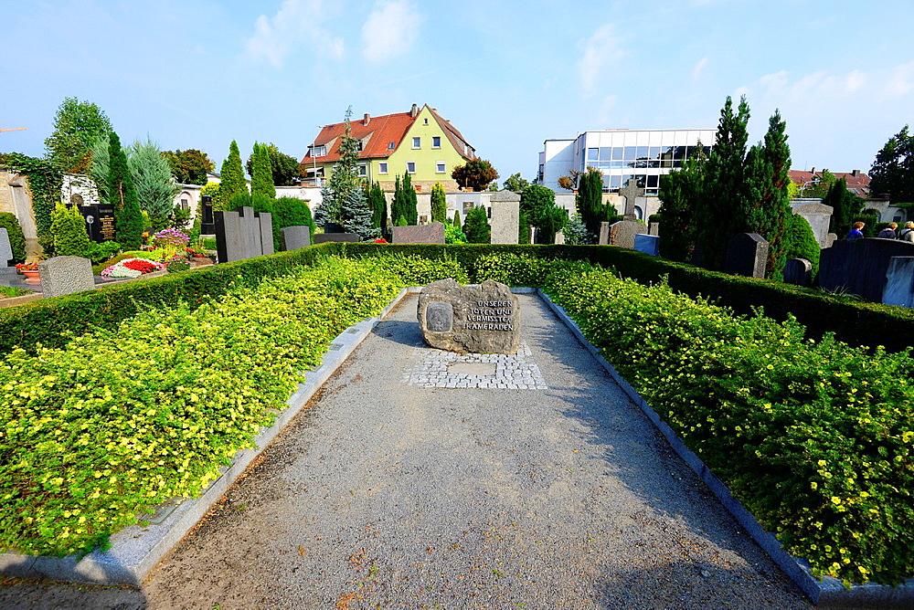 Cemetery Dracula Burial Place Kitzingen Germany DE Deutschland Bavaria.