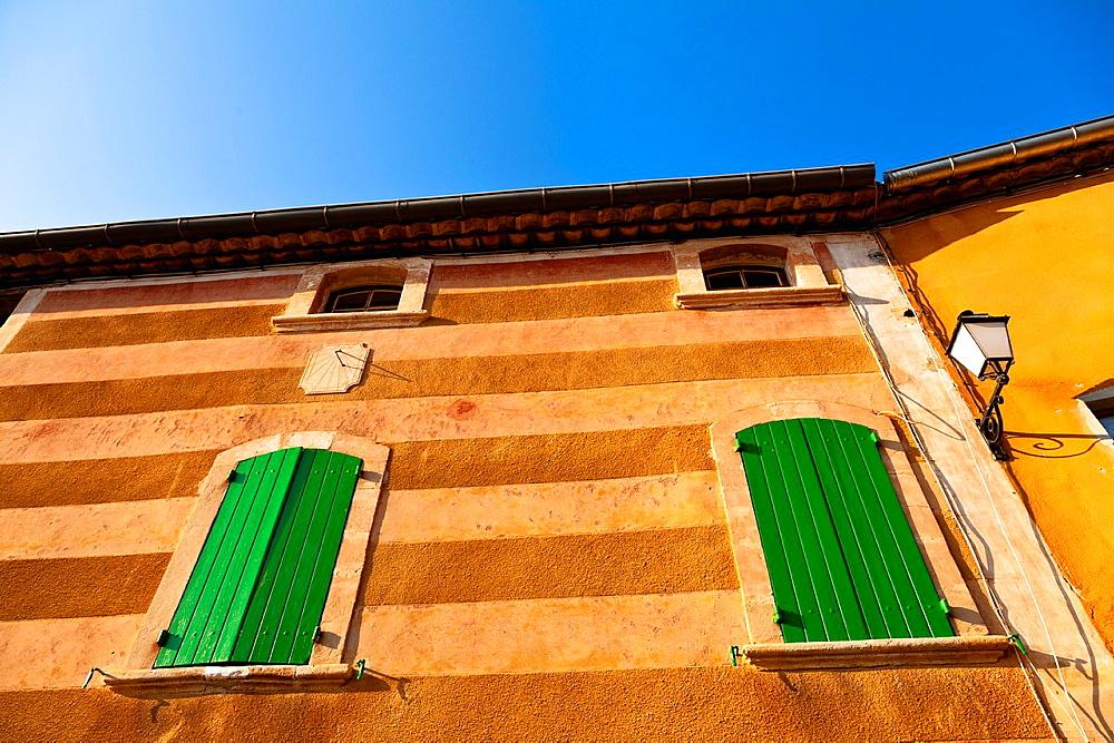 Roussillon, Vaucluse, Provence, France