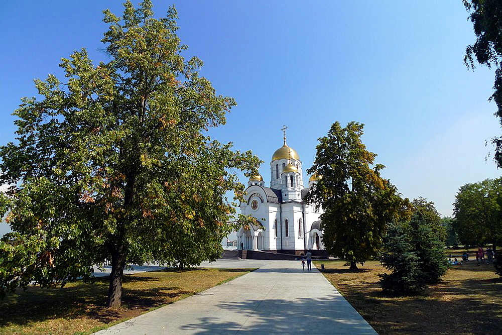 Orthodox church of Samara, Samara Region, Rusian Federation