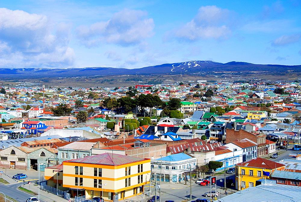 City of Punta Arenas Patagonia Chile