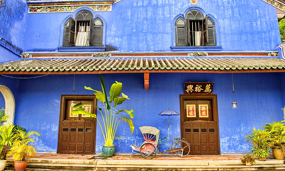 The Cheong Fatt Tze mansion in the UNESCO World Heritage zone of Georgetown in Penang, Malaysia.