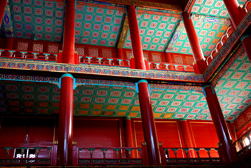 China, Hebei Chengde, summer residence of the Manchu Emperors of the early Qing Dynasty, Zongcheng Putuo temple built between 1767 and 1771 during the reign of Emperor Qianlong, built on the model of the palace Potola