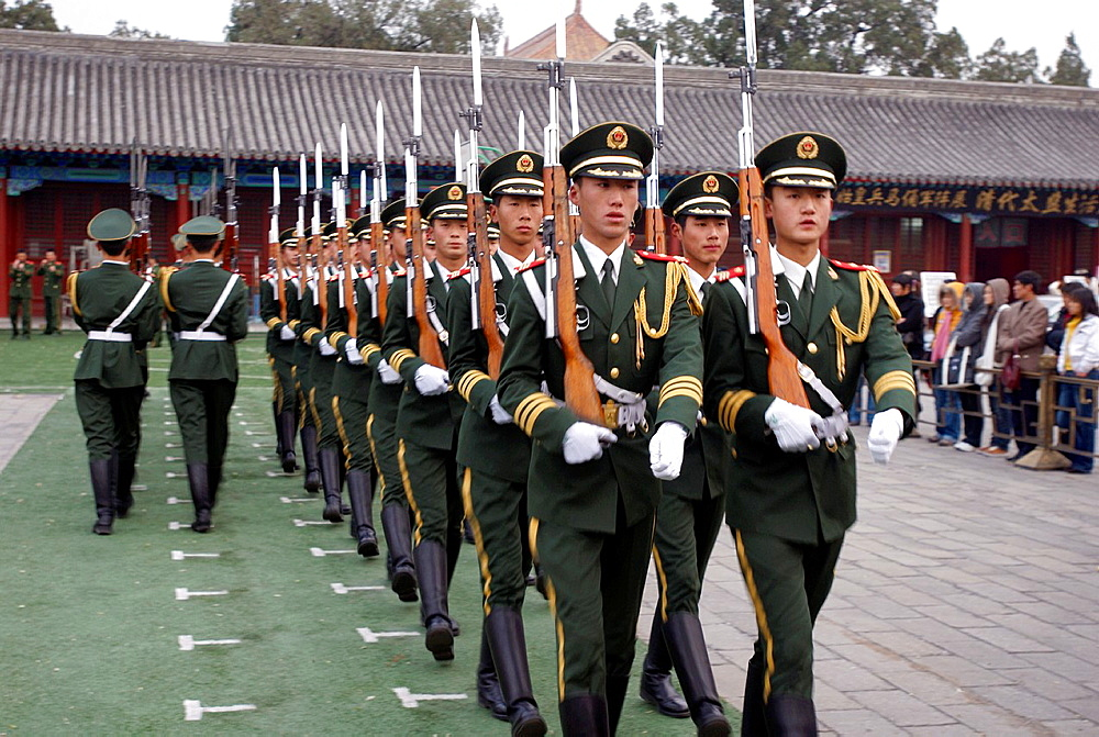 Military parade, Beijing, China