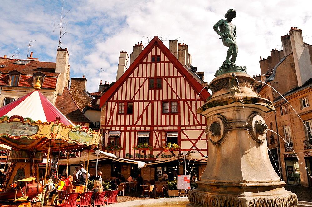 Place Francois Rude, Dijon, Cote d¥Or, Burgundy, France