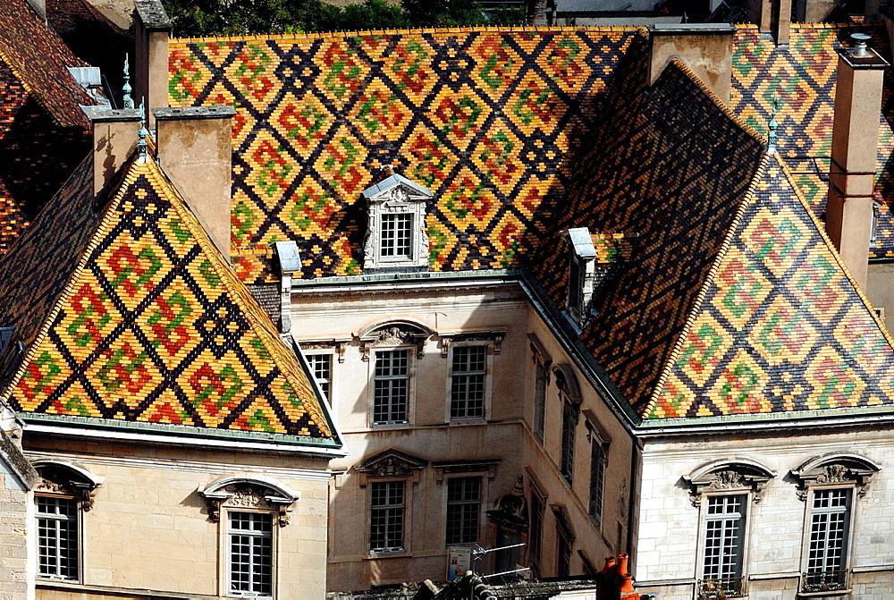 17th century Hotel de Vogue, Dijon, Cote d¥Or, Burgundy, France