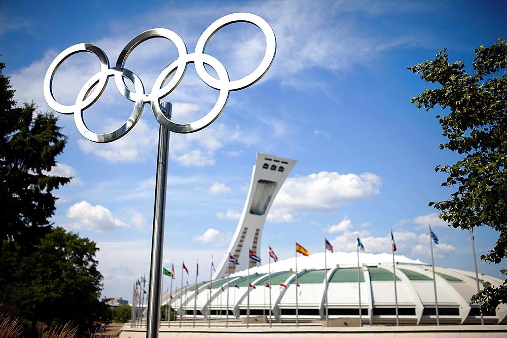 Olympic Stadium, Montreal, Quebec, Canada.