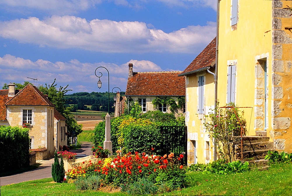 Loisail, village in the Regional Natural Park of Perche, Orne department, Lower Normandy region, France, Western Europe.