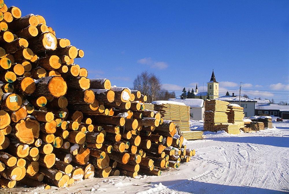 Muonio, Lapland, Finland, Northern Europe. - 817-466510