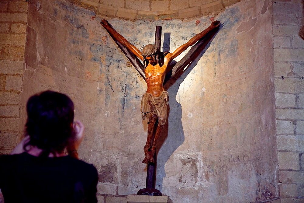 Crucifijo church. Gares. Navarre, Spain.
