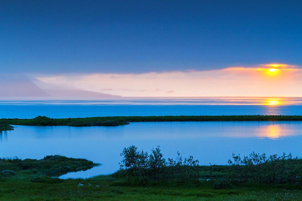 Skjalfandi bay. Husavik. Iceland, Europe.